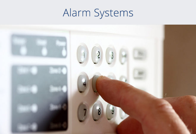 Home alarm service for my business